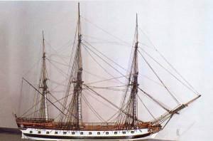 Шведский линейный фрегат «Zemire» (Земира)