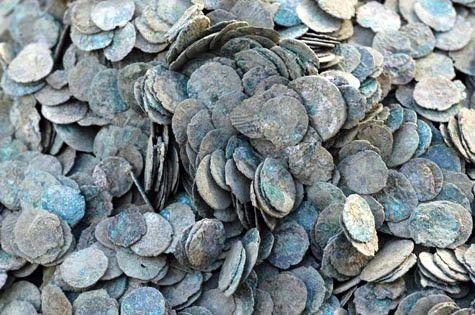 Клад бронзовых монет