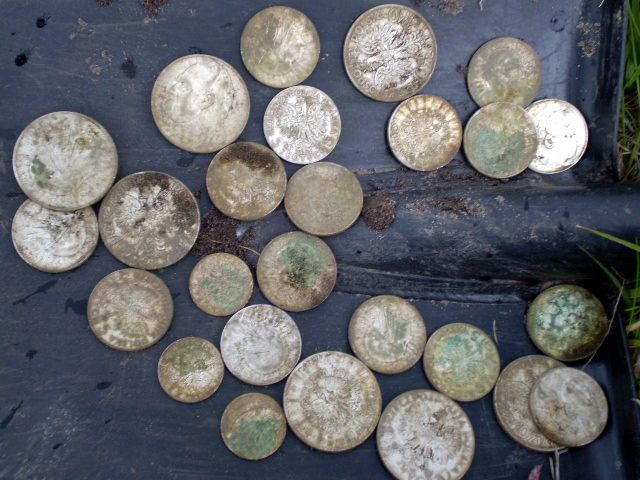 Клад польских монет