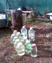 клад - 41 литр самогона