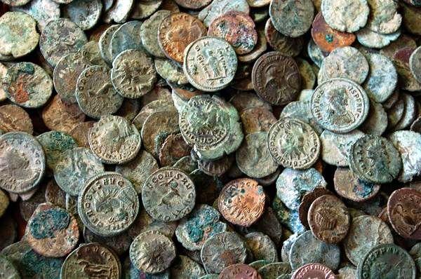 Полтора центнера римских монет, 2010 год