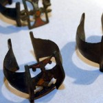 Браслеты с эмалевыми вставками из уникального клада
