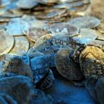 Найден клад серебряных монет