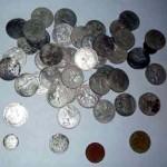 Клад советских монет