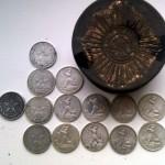 Клад монет времен РСФСР