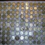 Фотографии клада монет времен РСФСР