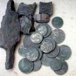 Фотографии клад монет