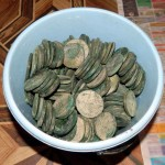 Фотография клад монет