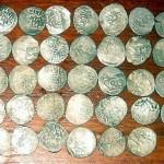 Клад серебряных дирхемов