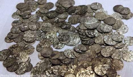 Средневековый клад найден на острове Готланд