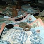 Клад бумажных денег