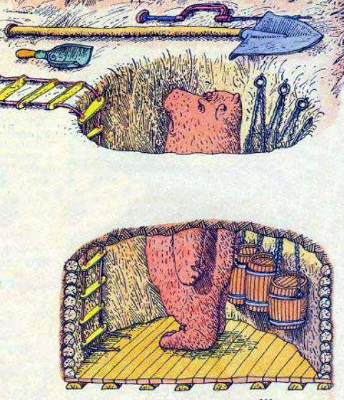 Медведь стерегущий царскую казну