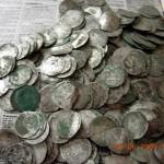 Фотографии клада пражских грошей