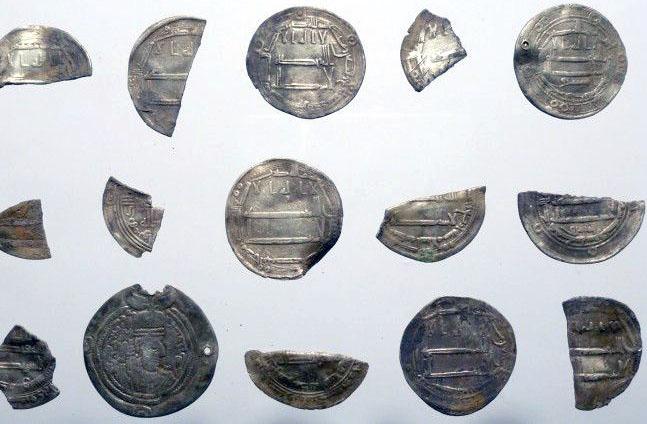 Клад арабских монет родом из Дании