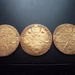 Клад царских золотых монет