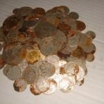 Клад золотых и серебряных монет