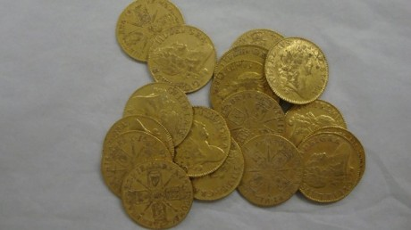 Клад золотых монет на месте старого паба