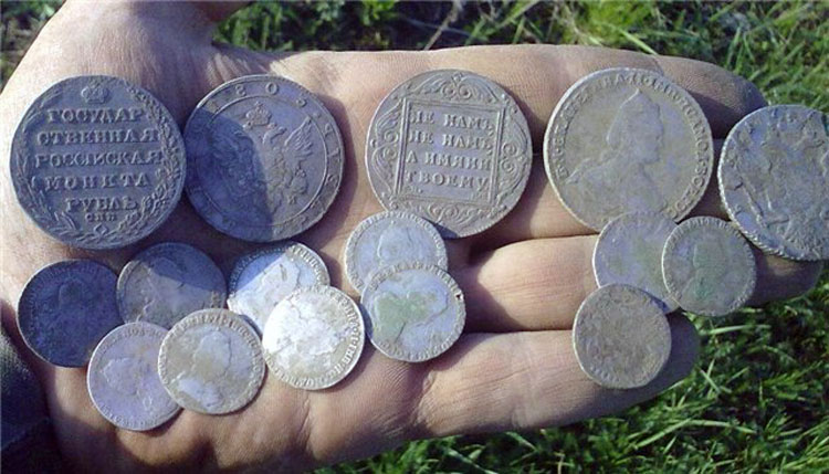 Монеты находки в усмани и усманском районе.