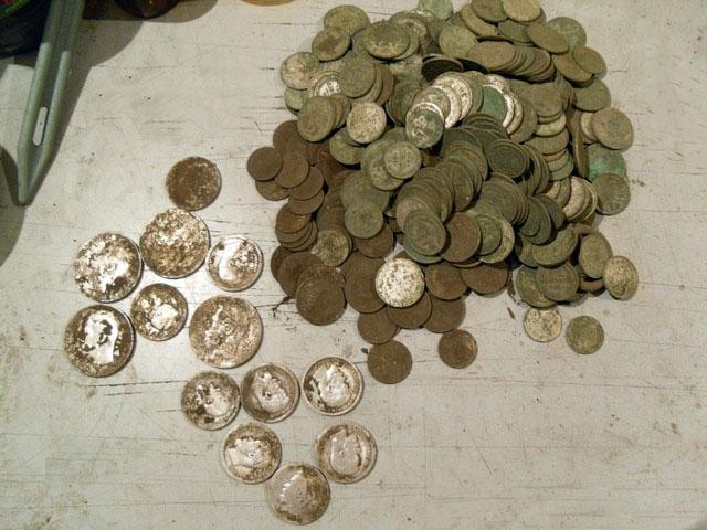 Клад монет николая ii :: находки кладов.
