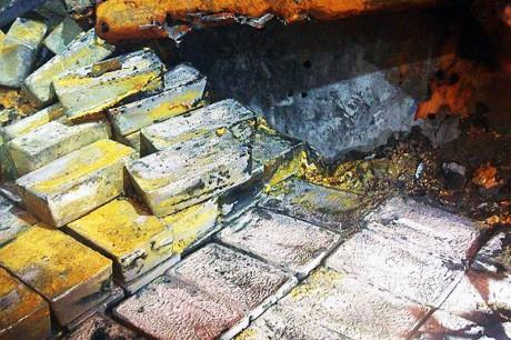 Завершилась операция по подъему серебряных слитков с британского грузового судна «Герсоппа»