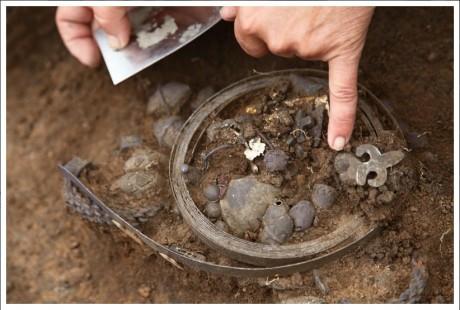 Клад серебряных украшений из Рязани