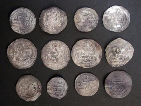 Клад серебряных монет  из Самарканда найден в Севилье