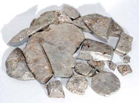 Клад камских гривен (лепешек)