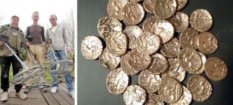 Стаффордширский клад золотых монет