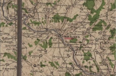 Специальная карта Европейской России – Могилев (Беларусь и прилегающая территория)