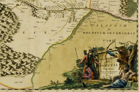 Карта Покутье (Украина) Ukraine pars qvae Pokutia vulgo dicitur