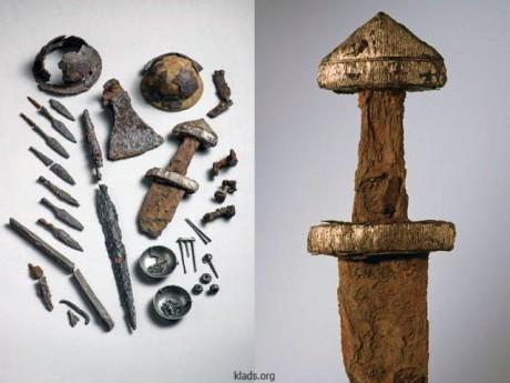 Клад времен викингов в Норвегии