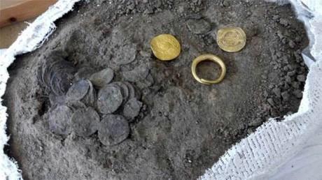 Клад монет на острове Борнхольм