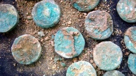 Клад монет на окраине Иерусалима