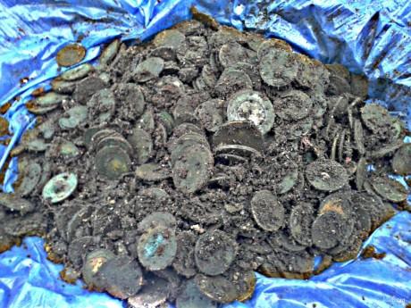 Клад имперских монет