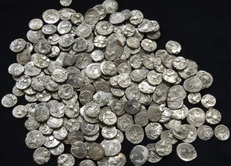 Клад галльских монет