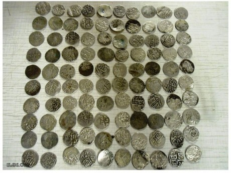 The hoard of silver coins of the Golden Horde