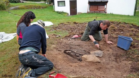 Захоронение викинга-кузнеца