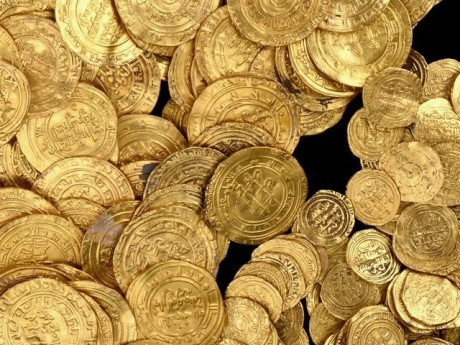 Israeli divers found a great treasure of gold coins