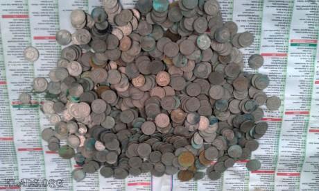 Клад монет на чердаке