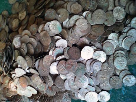Клад Крымский татарских монет бешлыки