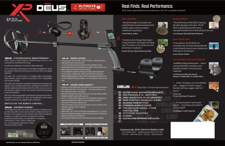 XP DEUS 4 in 1 Ultimate Detectors