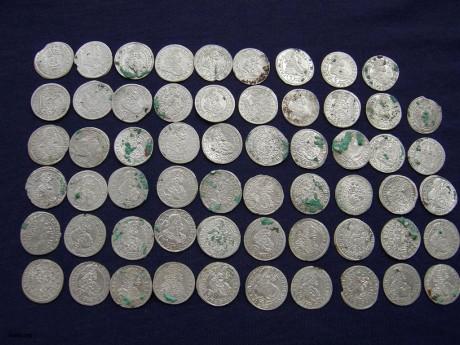 Клад серебра конца XVII века