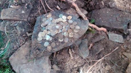 Не большой клад римских динариев