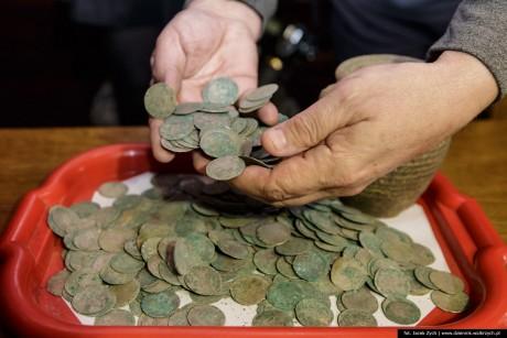 Клад пражских грошей