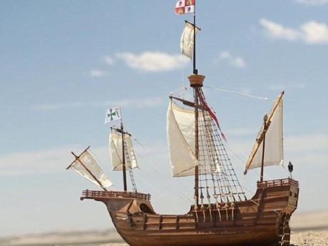 Вот мак примерно выглядел когда -то затонувший корабль, Bom Jesus во время своего плавания в Индию в далеком 1533 году