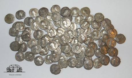 Клад римских динариев из Польши