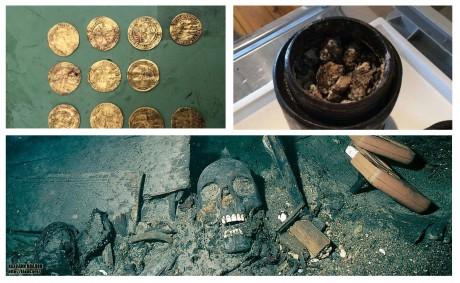 Золотые монеты и вонючий сыр