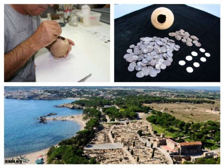 Студенты-археологи обнаружили в подвале уникальный клад римской эпохи