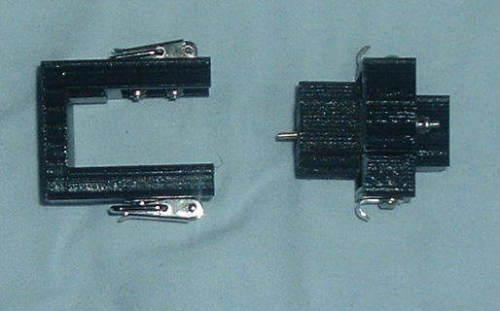 Блок для зарядки катушки XP DEUS сделанный на 3D принтере