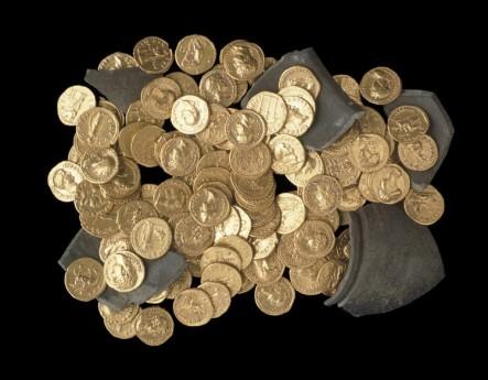 Клад римских золотых монет (Дидкот клад/Didcot hoard)